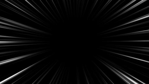 concentration line black and white background 動画素材, ムービー映像素材