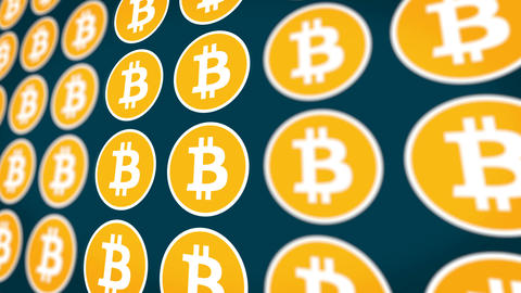 Bitcoin Cryptocurrency Coins Backgrounds 0