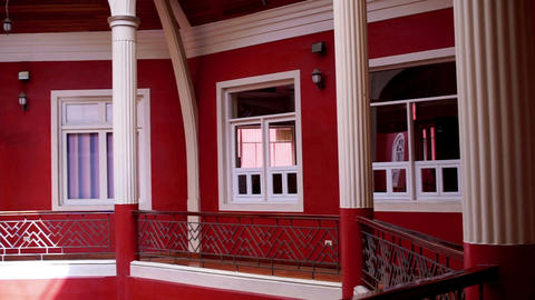Loja Government Colonial Architecture Floor Pan Footage