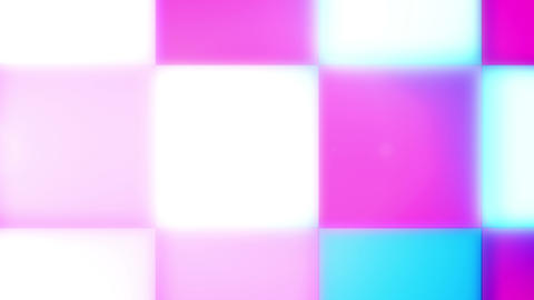 Sparkling Rosy, White, Blue Led Lamps Animation