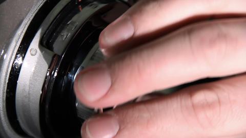 Lock of steel vault GIF