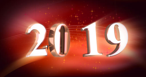 New Year 2019 Animation