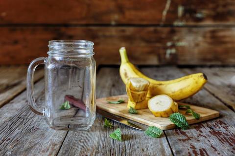 Detox, Healthy Food, Smoothie, Banana, Cooking, Ingredients Photo