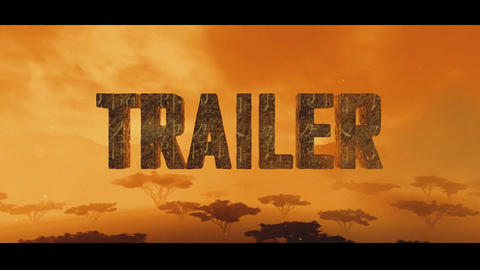 Trailer Movie Cinematic Title After Effects Template