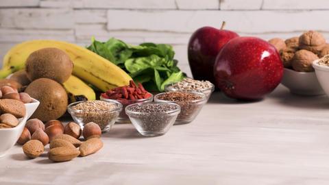 Healthy vegan food GIF