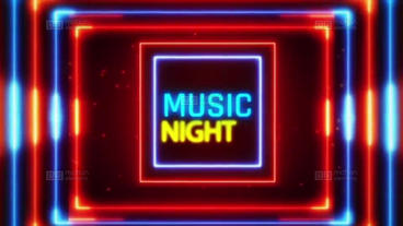 Neon Nights After Effects Template