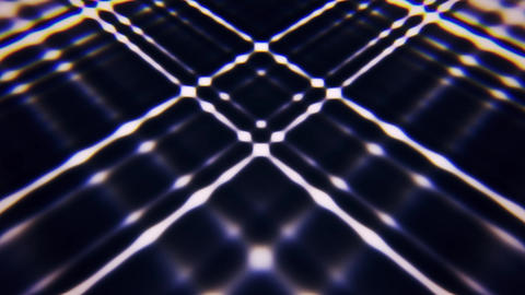 White Abstract Crossing Lines Animated Loopable Background Animation