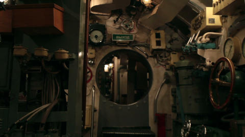 submarine round hatchway Live Action