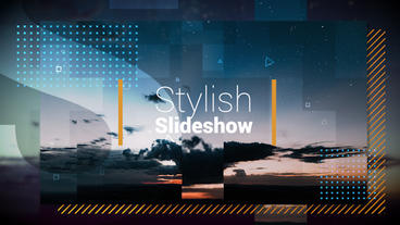 Stylish Slideshow Premiere Pro Template