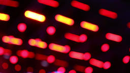 Background bokeh with defocused concert lights on stage Footage