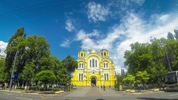 St Volodymyr's Cathedral, Kyiv, Ukraine Footage