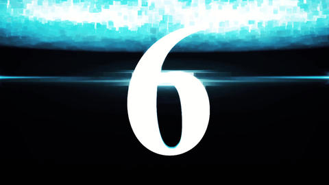 Countdown - Corporate Flares Animation