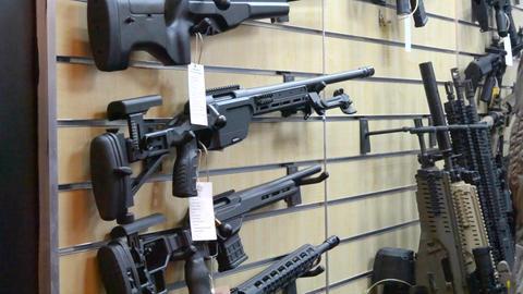 Kalashnikov assault rifles Footage
