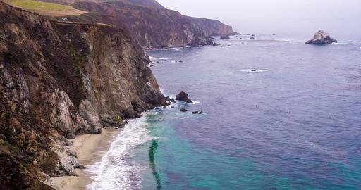 Landscape Central Coast of California Live Action