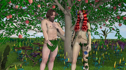 Adam and Eve, animation Animation