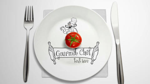 Gourmet Chef After Effects Template