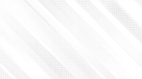 Grey and white tech geometric motion background Animation