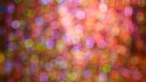 4K Video loop of Abstract colorful bokeh background from light ビデオ