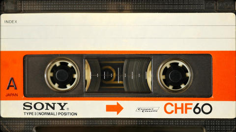 Vintage Sony CHF 60 minute Type 1 Audio Cassette Tape. In 1966, Sony and other 画像