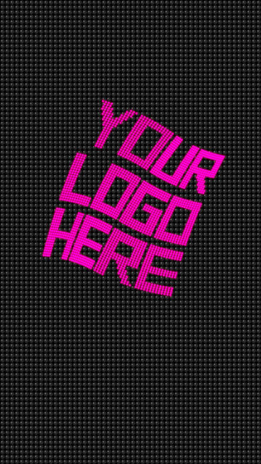 Led Logo Opener 1 Vertical After Effects Template
