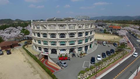 Spring of Bomun Park at Gyeongju 03 Footage