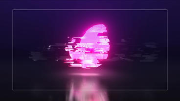 Glitch Colorful Logo Reveal After Effectsテンプレート