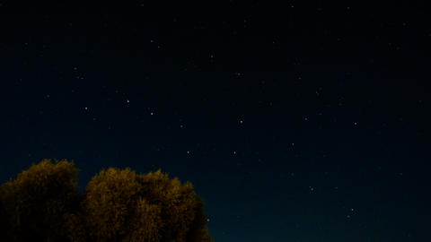 Night Stars Timelapse Footage