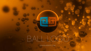 Ball Logo Reveal After Effectsテンプレート