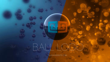 Ball Logo Reveal After Effects Template