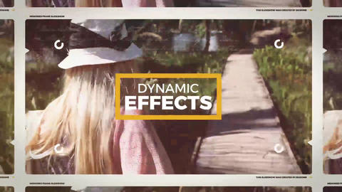 Memories Frame After Effects Template