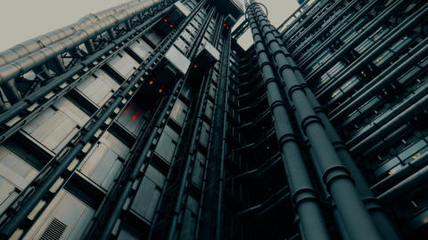Lloyds Building skyscraper in London, England, UK Image