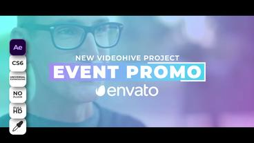 Event Promo Plantilla de After Effects