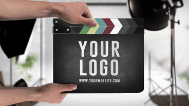 Clapper Studio Logo After Effectsテンプレート