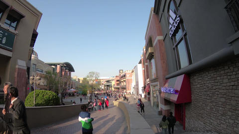 Solana, one of the most luxury shopping mall in Beijing, China, Time-lapse Live Action