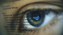 human being futuristic vision, vision and control and protection of persons, Archivo