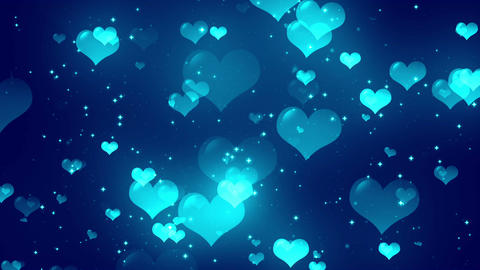Hearts Background 4 Loopable Background Animation
