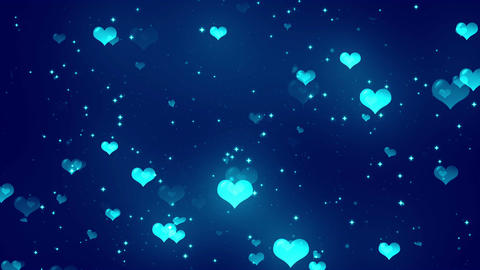 Hearts Background 7 Loopable Background Animation