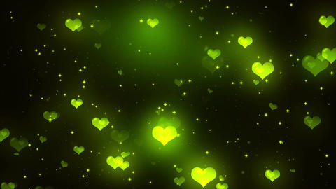 Hearts Background 8 Loopable Background Animation