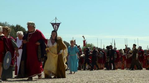 roman legionary Footage