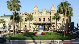 Casino of Monte Carlo, Monaco Footage