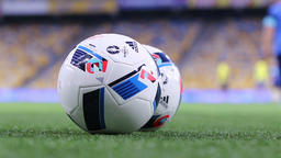 Official matchballs of UEFA EURO 2016 (Adidas Beau Jeu) Footage