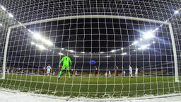 Football game FC Dynamo Kyiv v Besiktas Footage