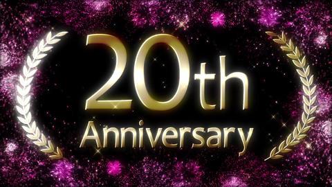 Anniversary loop Animation