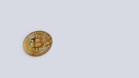 Side travelling of Bitcoin growth Animation