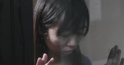 woman feel depression Footage