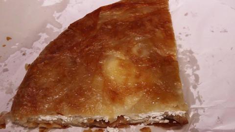 Burek With Cheese Footage