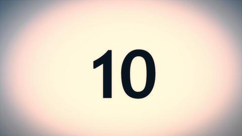 Countdown Timer - Beginning Animation