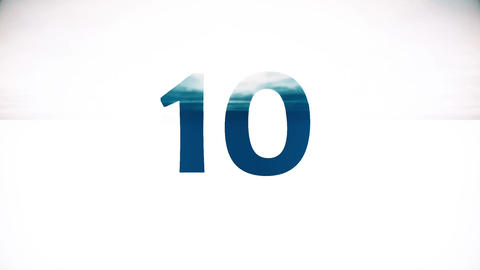 Countdown Timer - Top 10 Animation