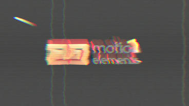 Glitch Logo (4k) Plantilla de Apple Motion