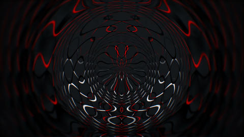 Red Medusa Sun of Black Galaxy Full HD VJ Loop Animation